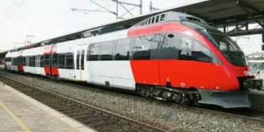 Zug in Kärnten geriet in Brand