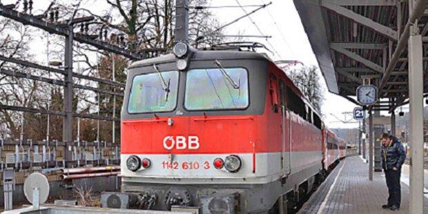Pensionist stürzt auf Gleise: Vom Zug erfasst
