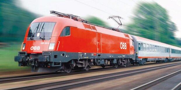 Bahnstrecke Tulln-Wien bis Sonntag gesperrt