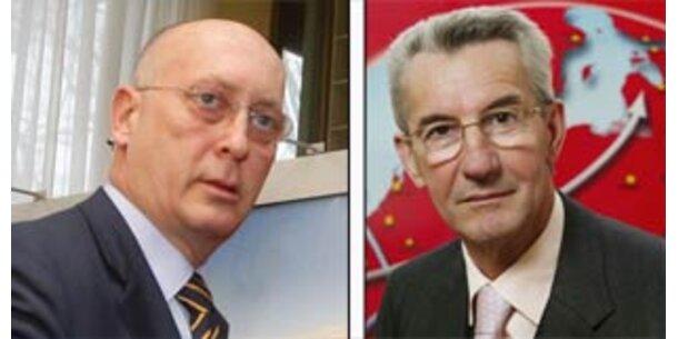 ÖBB-Boss Huber und Vizechef Poschalko vor Ablöse