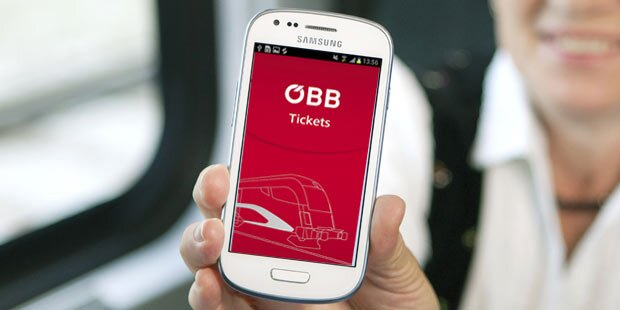 Neue App: ÖBB-Ticket in 10 Sekunden