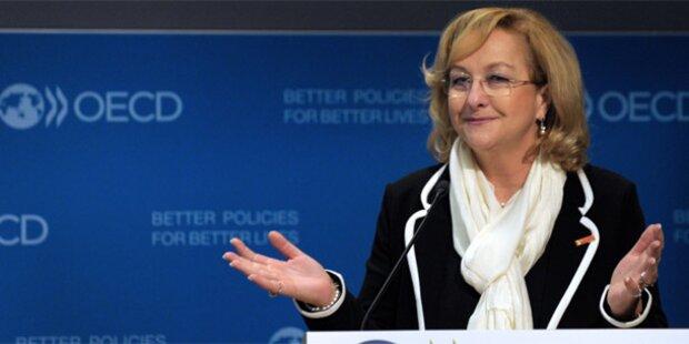 Fekter unterzeichnet Steuerpakt mit OECD