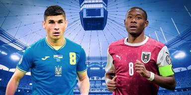 Letztes Gruppenspiel: Österreich gegen Ukraine im Duell um Achtelfinale