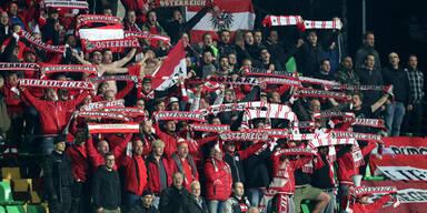 ÖFB-Team in Nations League in Liga B