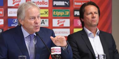 Teamchef-Suche: Spieler setzten ÖFB unter Druck