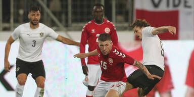 0:2 - ÖFB-Elf verliert gegen Dänemark