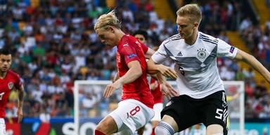 ÖFB verliert gegen Deutschland