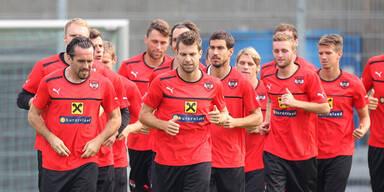 ÖFB-Spieler setzen auf Sieg gegen Deutschland
