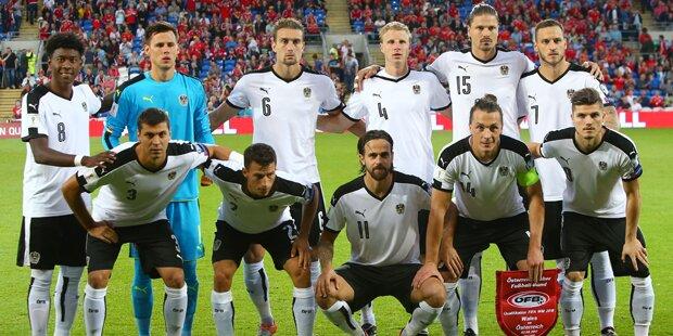 Gebeuteltes Österreich empfängt Georgien