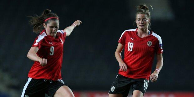 ÖFB-Damen verlieren klar gegen Spanien