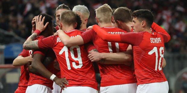 ÖFB-Team zaubert bei 3:0-Gala