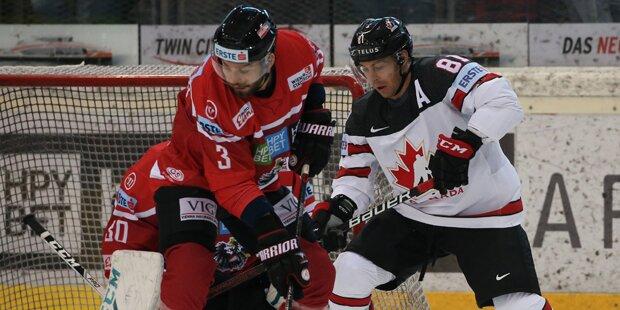 Starke Leistung von Österreich gegen Kanada