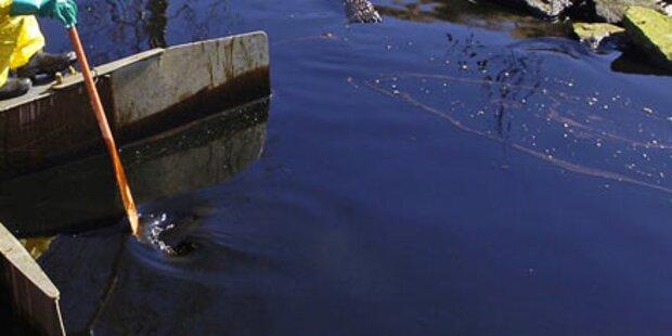 Sabotageakt: Ölpest bedroht den Po
