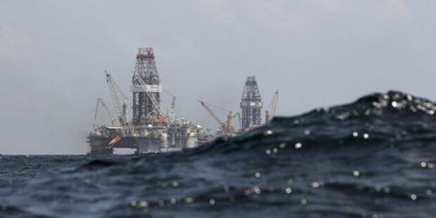 Golf von Mexiko durch Öl verpestet