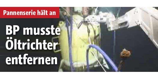 BP: Öl-Absaugtrichter arbeitet wieder