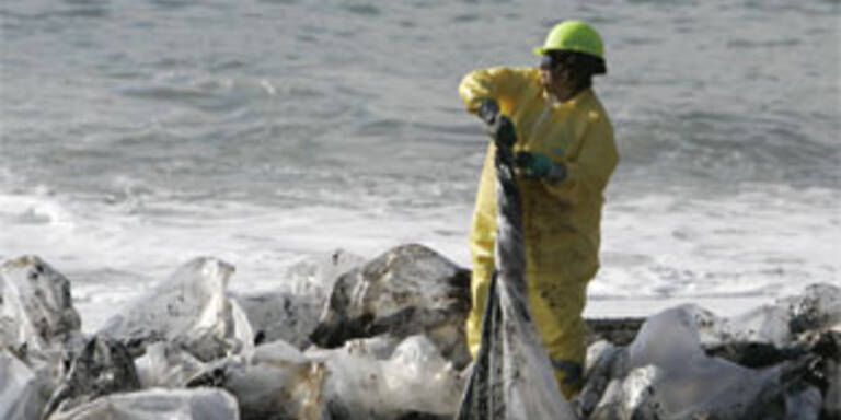 Ölpest vor San Fransisco