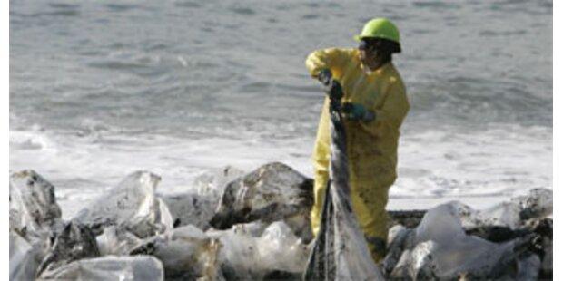 Ölpest vor San Francisco bedroht Tierwelt