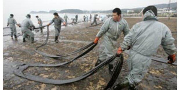 Ölpest vor Südkorea weitet sich aus