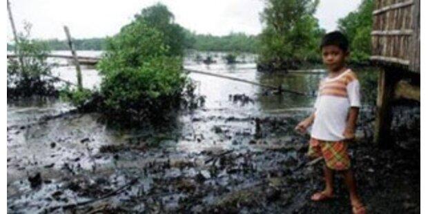 Ölpest in Lettland lässt sich kaum bekämpfen