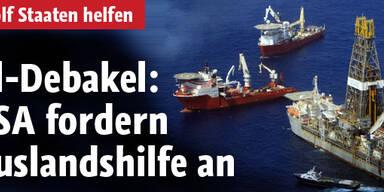 Ölpest: USA holen Hilfe aus dem Ausland