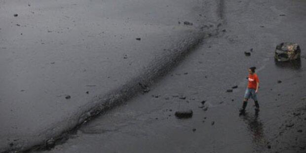 Riesiger Ölteppich bedroht China