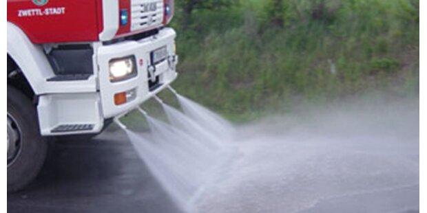 Lkw zog 8 km lange Öl-Spur