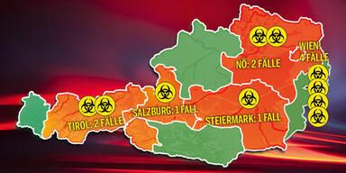 Der CORONA-ATLAS für Österreich