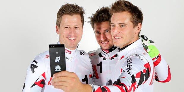 Hirscher & Co. setzen auf LTE-Smartphone