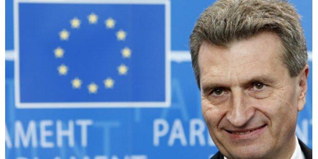 Ganz Deutschland lacht über Oettinger
