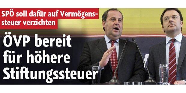 ÖVP bereit für höhere Stiftungssteuer