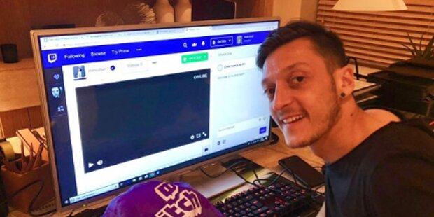 Hat sich Özil wegen Online-Spiel verletzt?