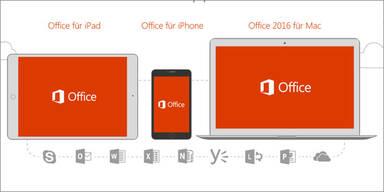 Microsoft Office 2016 für Mac ist da