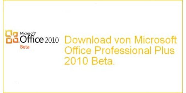 Download von Office 2010 verfügbar
