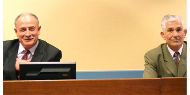 37 Jahre Haft für ex-jugoslaw. Offiziere