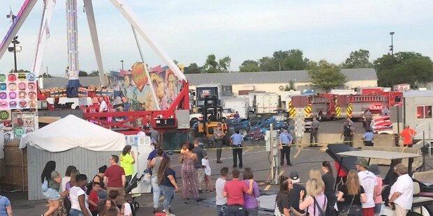 Tragödie auf Jahrmarkt: Ein Toter in Fahrgeschäft