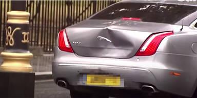 Boris Johnson in Autounfall verwickelt