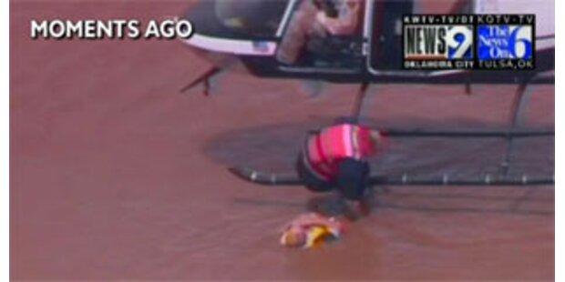 20 Tote in den USA durch Stürme und Fluten