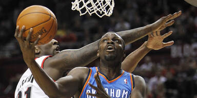 Oklahoma City Thunder Portland Trailblazers NBA