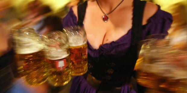 Wies'n: 6,7 Millionen Maß Bier getrunken
