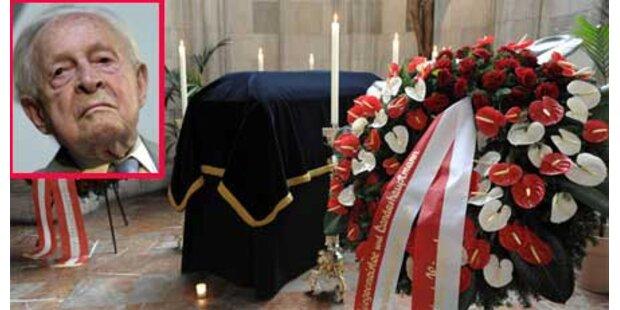 Franz Olah im Stephansdom verabschiedet
