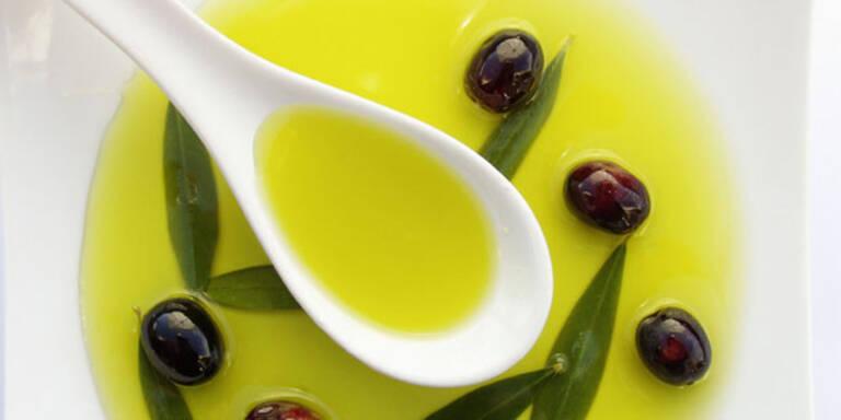 1 Löffel Olivenöl am Tag schützt Ihr Herz