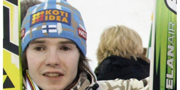 Finne sorgt Sex-Skandal bei Skiflug-WM