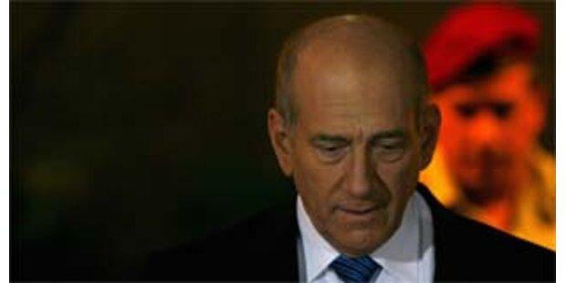 Tritt Israels Premier Olmert zurück?