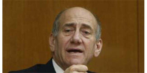 Olmert distanziert sich von Drohung seines Vizes