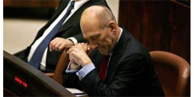 Olmert immer stärker unter Druck