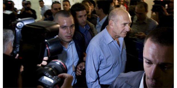 Olmert wird jetzt der Prozess gemacht