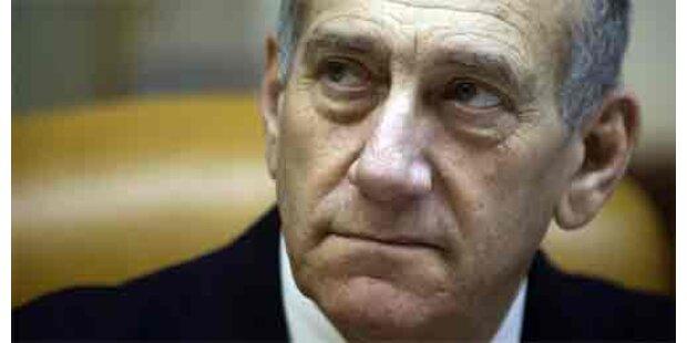 Olmert streicht Italien-Urlaub