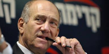 Der israelische Regierungschef Ehud Olmert
