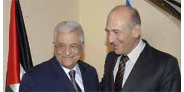 Olmert und Abbas mit Verhandlungs-Fortschritten