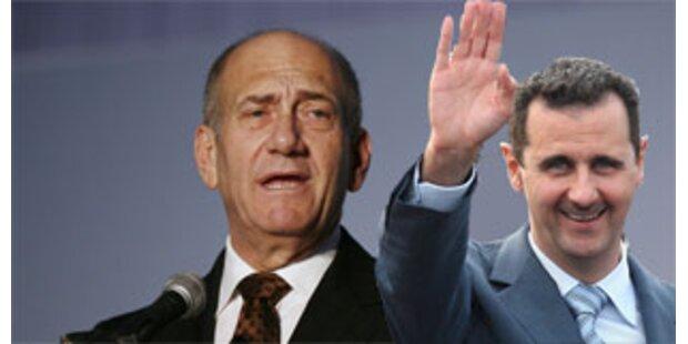 Israel und Damaskus wollen Frieden